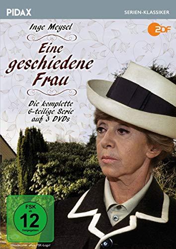 Eine geschiedene Frau / Die komplette 6-teilige Serie mit Starbesetzung (Pidax Serien-Klassiker) [3 DVDs]