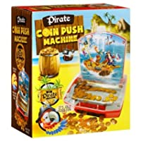 Amazing Trends Pirate Coin Push Machine toy playset for kids