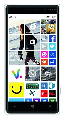 "Nokia Lumia 830 - Smartphone libre Windows Phone (pantalla 5"", cámara 10 Mp, 16 GB, Quad-Core 1.2 GHz, 1 GB RAM), verde (importado)"