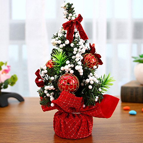 ALCYONEUS Baum Blumen Bug-Knoten Ball Flower Xmas Party Tisch Dekor Ornament (1#) (Tree Topper Bow)