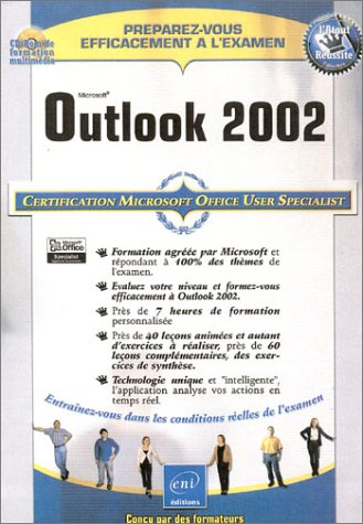 Outlook 2002 (CD Rom - L'Atout réussite)