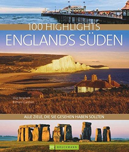 100 Highlights England Süden: Alle Ziele, die Sie gesehen haben sollten. Von der Kathedrale von Canterbury über die City of London bis zu den Sissinghurst Gardens und auf die Isle of Wight.