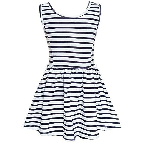 BEZLIT Kinder Mädchen Kleid Peticoatkleid Festkleid Freizeit Sommerkleid 21281,