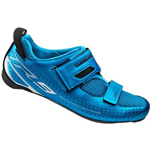 Shimano, Scarpe da ciclismo triathlon Unisex adulto SH-TR9 GR. SPD-SL Blu - Blu/Blu