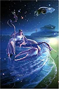 Starry Tales the Zodiac by KAGAYA 1000 Peace Cancer - Cancer - [puzzle] shiny (50cm x 75cm, corresponding panel No.10) (japan import)