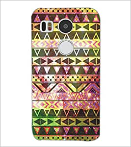 PrintDhaba Pattern D-5225 Back Case Cover for LG NEXUS 5X (Multi-Coloured)