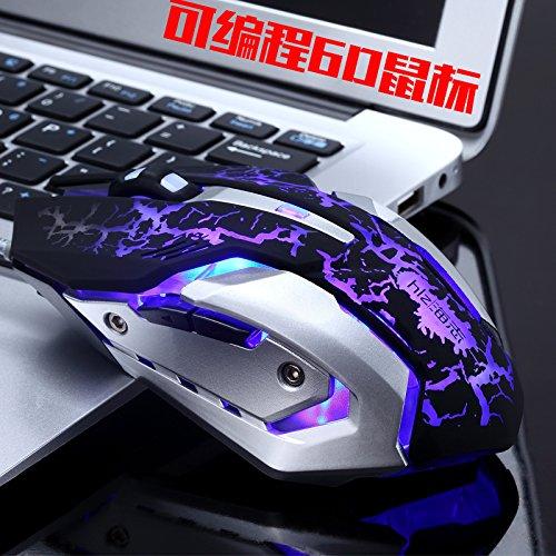 Jikongcp Verdrahtete Professionelle Spiel Maus Makro Definition Programmierer Erschwert (Spiel-programmierer)