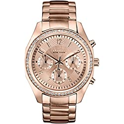 Carvelle New York Rose Gold Women's Quartz Watch
