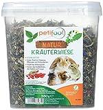 dobar petifool Nager-Ergänzungsfutter Kräuterwiese, natürliches und gesundes Kaninchenfutter, 1er Pack (1 x 380 g)