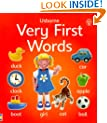 Very First Words Board Book (Usborne First Words Board Books)