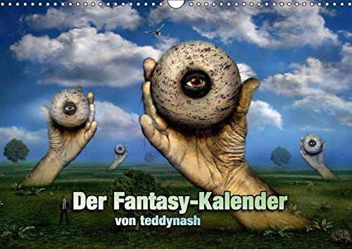Der Fantasy Kalender (Wandkalender 2019 DIN A3 quer): Ein Fantasy Kalender (Monatskalender, 14 Seiten ) (CALVENDO Kunst) -