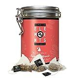alveus® Summer Miracle Superior Organics Elements: Teemischung mit Rooibos, Verbene, Minze, Fenchel, Hibicus, Anis, Ingwer, Ringelblumen, Süßholzwurzel, Kurkoma, Dose mit 15 Pyramidenbeuteln à 3g
