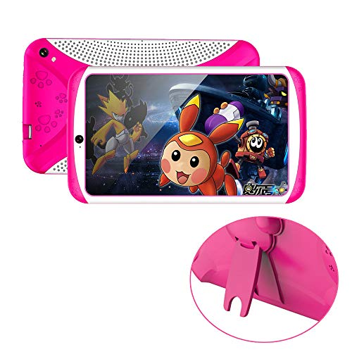 SO-buts Android 4.4 KitKat Tablet,7-Zoll Quad-Core Tablet,Maximaler erweiterter Speicher 32 GB,HD-Display Dual-Kamera WiFi Bluetooth Geeignet für Kinder, (Rosa)