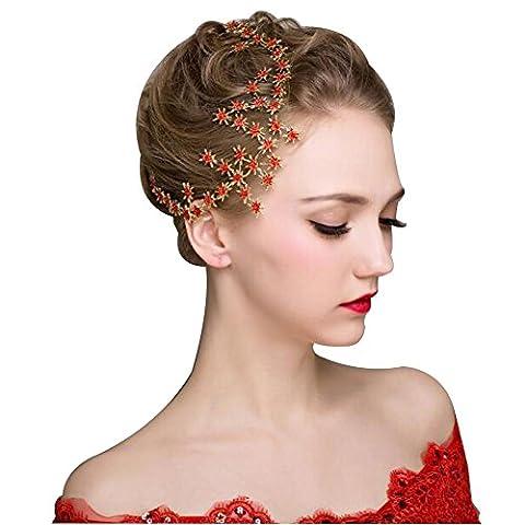 DUUMY Main Haut de Gamme Pour Femmes Accessoires Cheveux Mariée