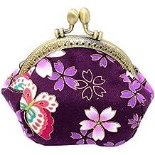 34c817e5be Muium 4 Colori Donna Pochette Borsa Sacchetto Elegante Borsetta da Sera  Borsa Fiori Stampa Portafoglio Frizioni
