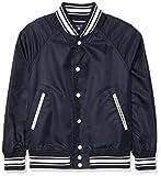 GANT Jungen Jacke Varsity Jacket, Blau (Evening Blue 433), 158 (Herstellergröße: 158/164)