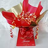 PERSONALISED LINDT LINDOR SWEET CHOCOLATE BOUQUET HAMPER
