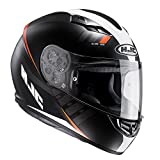 HJC CS-15 Space Casco Integrale Moto Scooter Bambini Motorino Caschi Integrali MC7SF Arancia...