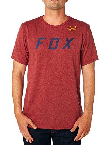 Fox Tech T-Shirt Grizzled Heather Dark Grey Rot