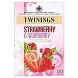 Twinings Erdbeer-Himbeer-Tee-Beutel 20 Pro Packung
