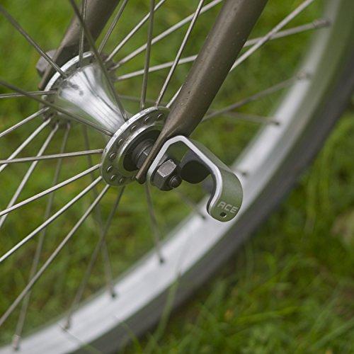 Aluminio gancho para Brompton–ligero plata