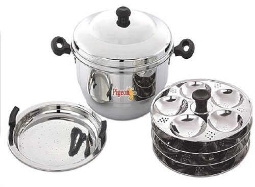 Pigeon Idly Pot With Steamer-Hot 24  available at amazon for Rs.1786
