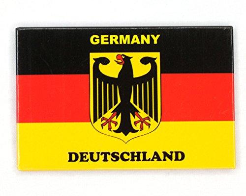 Kühlschrankmagnet 8 cm x 5,5 cm Germany Deutschland - Deutschland Kühlschrank Magnet