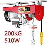 Flaschenzug Seilwinde ,Winde elektrisch (510W,100/200KG)