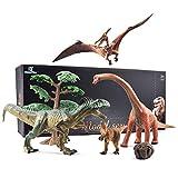 GizmoVine Dinosauri Giocattoli Set Gigante Dinosauro Figure Giocattoli educativi Decorazioni per la...