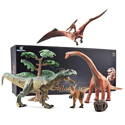 GizmoVine 1620 - Set di Giocattoli educativi con Dinosauro jurassico Realistico, Decorazione per la casa, per Bambini e Ragazzi