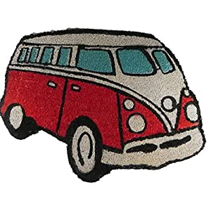 Giftworks VW Campervan Doormat Red