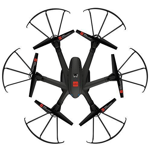 UTO Drone U960 Hexacopter with Camera Ready FPV Helicopter Quadcopter Quad Copter Toys Black