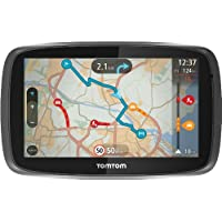 TomTom GO 500 EU 45 Free Livetime Maps - 5 inch (13 cm) TouchscreenLifetime TomTom Traffic via Smartphone3D-KartenInteraktive KarteKarten from europe Lifetime-Updates