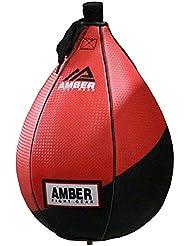 Amber Fight Gear Boxing Speed - Pera de boxeo, color multicolor, talla 18 cm