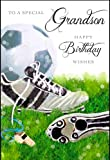 JONNY JAVELIN - DAYS TO REMEMBER- BIRTHDAY CARD - 'TO A SPECIAL GRANDSON' - DR06