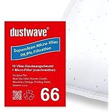/CYRIUS SC 3201/H//500/529600/Aspirateur/ Micro Filtre /dustwave/® Marque Sacs//fabriqu/é en Allemagne Mega Pack/ /20/Sacs daspirateur pour FAR/