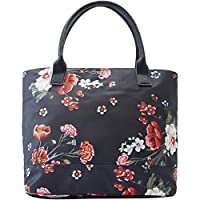 Joules Womens Carriwell Canvas Grab Handle Printed Hand Bag