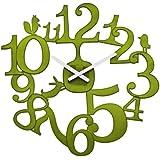 Koziol PIP Wall Clock - Olive