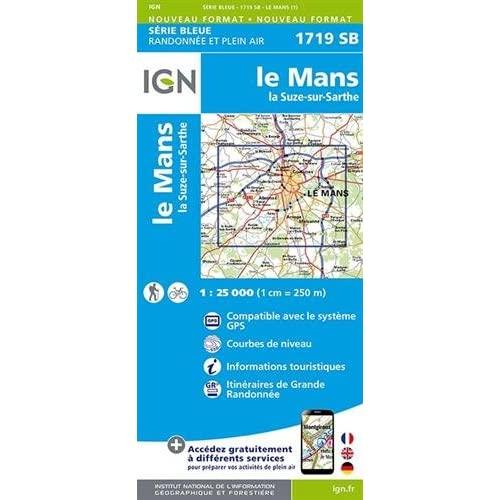 Le Mans/La Suze-sur-Sarthe : 1719sb