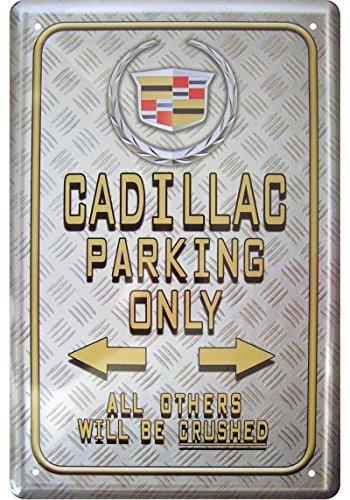 cadillac-parking-only-dcoration-plaque-de-tin-sign