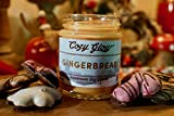 Cozy Glow Gingerbread Soy Candle 30 Hours Burn Time / 6.8 ounce Candle Jar