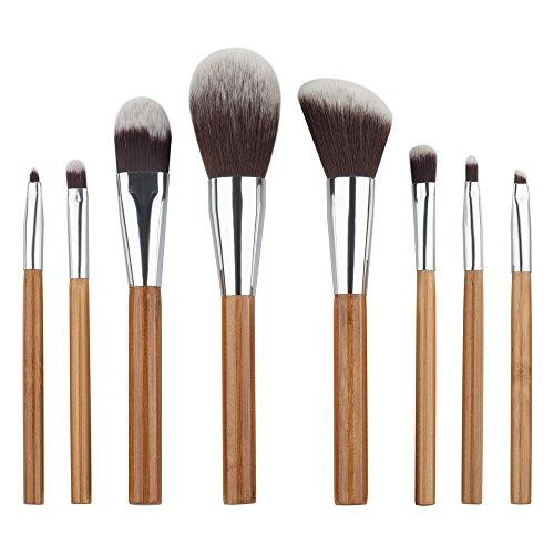 Demarkt 8pcs / set Brosse Cosmétiques Pinceau de Maquillage Sets Kits Outils