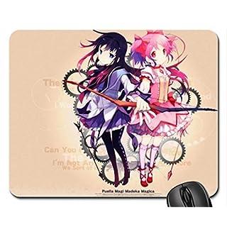 Akemi Homura and Kaname Madoka Mouse Pad, Mousepad (10.2 x 8.3 x 0.12 inches)