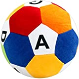 [Sponsored]piggie Soft Ball ABCD Educational Ball Soft Toys For Kids Big Size (Multicolor)