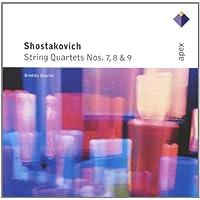 Shostakovich : String Quartets Nos 7, 8 & 9  -  APEX
