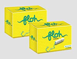 Floh Regular Tampons Combo of 2 (20 pieces)