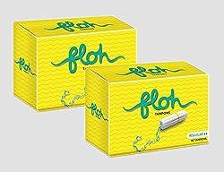 Floh Regular Tampons Combo of 2 (20 pieces)