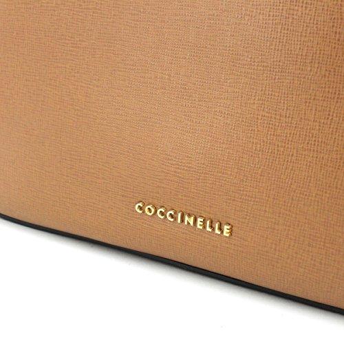 Coccinelle Clementine Borsa a tracolla pelle 27 cm Marrone