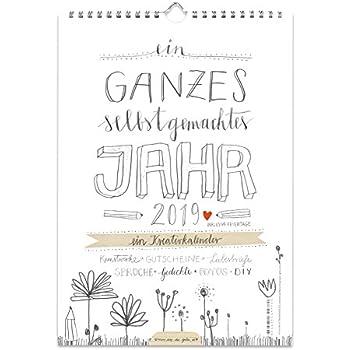 A4 Bastelkalender 2019 Fotokalender Kreativkalender