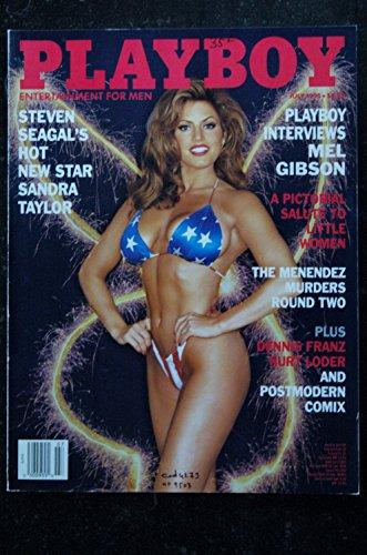 PLAYBOY US 1995 07 STEVEN SEAGAL SANDRA TAYLOR DENNIS FRANZ KURT LODER Heidi Mark Mel Gibson